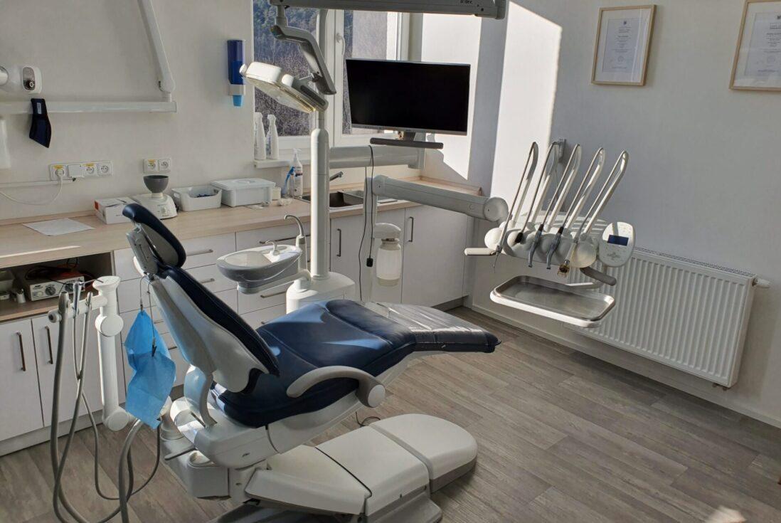 Rekonstrukce zubní ordinace AP stomatologie