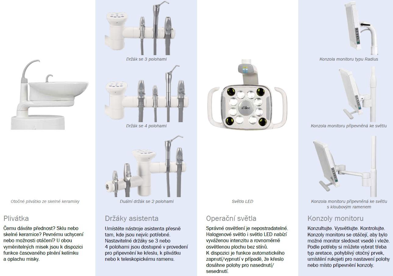 Konfigurace stomatologická souprava A-dec 300