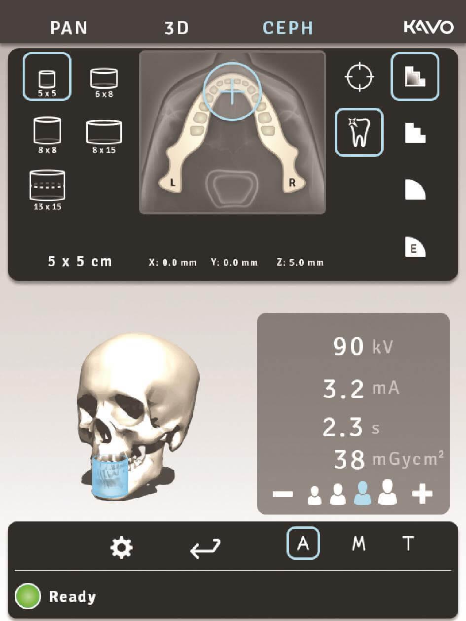 OP 3D Pro GUI view_rgb